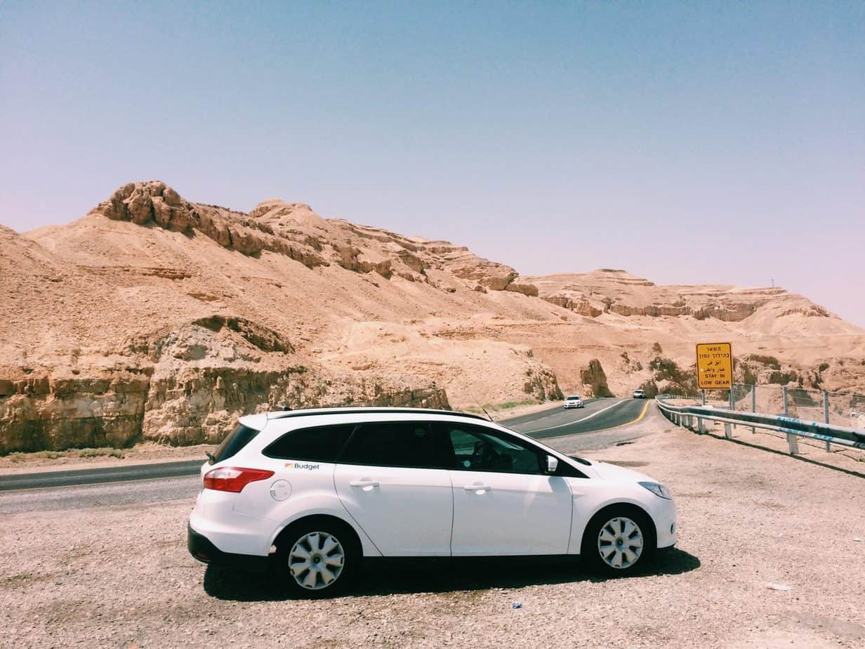 Renting a car for a road trip