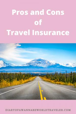 Travel Insurance Pin