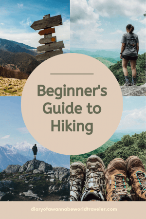 Beginners guide to hiking pin