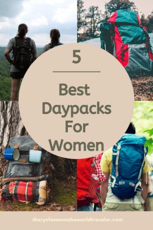 Best daypacks for women pin