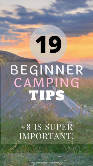 19 camping tips