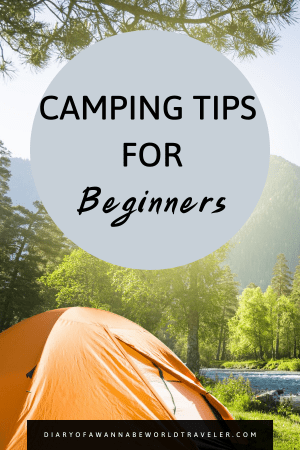 camping for beginners tips