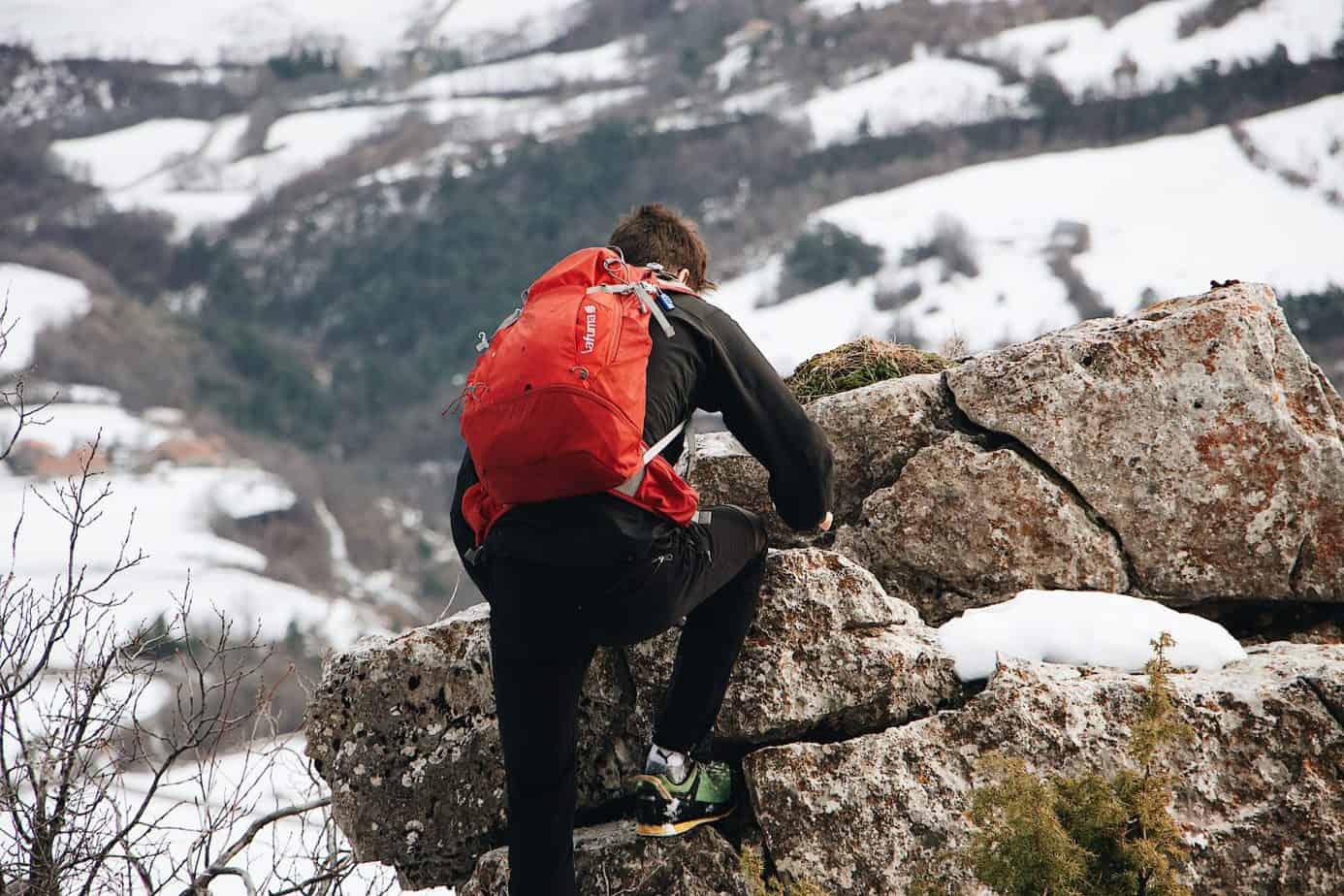climbing daypack