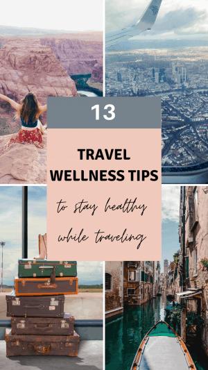 Travel wellness pin