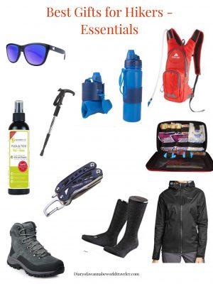 hiking essentials gifts