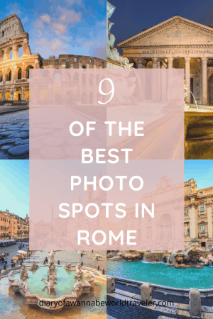 best places to take pictures in rome