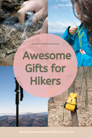 gifts for hikers pin