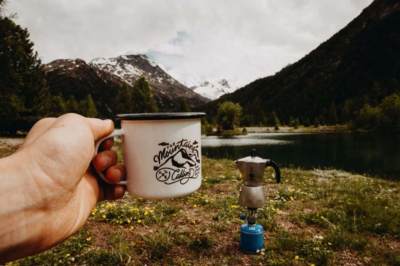 hiking coffee gifts