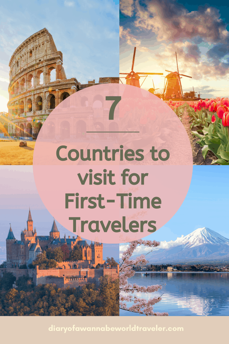 countries ti visit for first time travelers