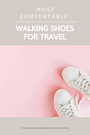 comfortable stylish walking shoes for travel