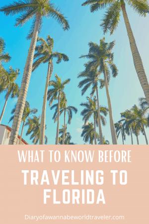Florida travel tips pin