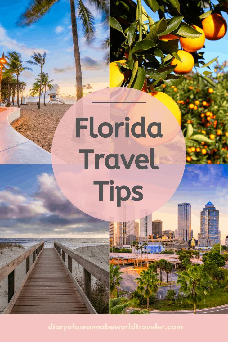 Florida travel Tip Pin